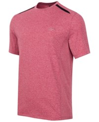 Greg Norman For Tasso Elba Men's Performance T Shirt Banner Red