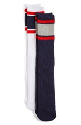 Fila Women's 2 Pack Tube Socks Navy