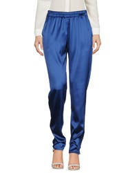 Scaglione City Casual Pants Blue