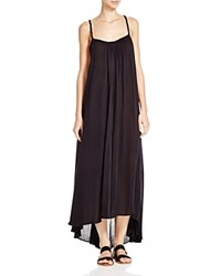 Boho Me Braided Back Maxi Dress Swim Cover Up Black