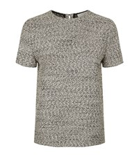 Victoria Beckham Boucle Top Female Grey
