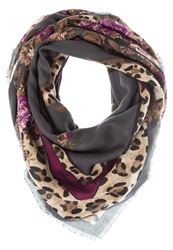 Guess Winter Savannah Scarf Grey