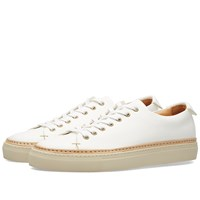 Buttero Tanino Low Leather Welt Sneaker White