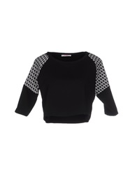 Blugirl Folies Sweatshirts Black