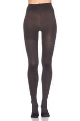 Spanx Cable Knit Tights Charcoal