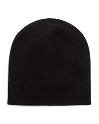 Vince Boiled Cashmere Beanie Black