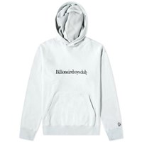 Billionaire Boys Club Embroidered Popover Hoody Blue