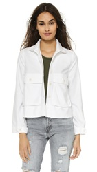 The Great. The Swing Army Jacket White