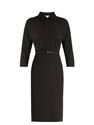 Max Mara Circeo Dress Black
