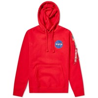 Alpha Industries Space Shuttle Hoody Red