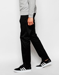 Edwin Chinos 55 Relaxed Tapered Compact Twill Black