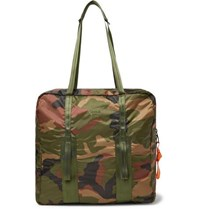 Herschel Supply Co Studio City Pack Hs7 Camouflage Print Ripstop Tote Bag Army Green