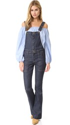 Current Elliott The Clean Flare Overalls Andover