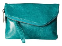 Hobo Daria Teal Green Handbags