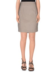 Fay Skirts Knee Length Skirts Women Grey