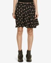 Denim And Supply Ralph Lauren Floral Print A Line Miniskirt Print Multi