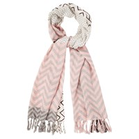 Oasis Patched Chevron Scarf Multi