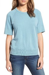 James Perse Women's Raglan Sleeve Cotton Pullover