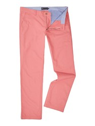 Howick Men's Fraternity Casual Chino Dusty Pink
