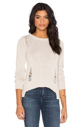 Central Park West Tava Crew Neck Sweater Gray