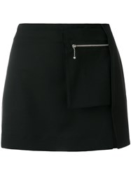 Alyx Side Slit Mini Skirt Black