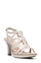 Naturalizer Women's 'Danya' Sandal Taupe Gold Fabric