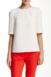 Ted Baker Dydelle Elbow Length Sleeve Tee White