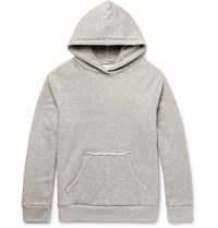 Simon Miller Mazunte Loopback Cotton Jersey Hoodie Gray