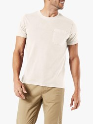 Dockers Essential T Shirt Egret