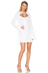 For Love And Lemons Josephina Swing Dress White