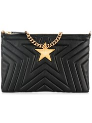 Stella Mccartney Star Clutch Bag Black