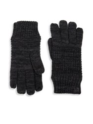 Bickley Mitchell Fleece Lined Wool Blend Gloves Black