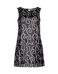 Angela Mele Milano Short Dresses Black