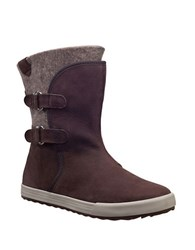 Helly Hansen Marian Tumbled Leather Winter Boots Coffee Bean