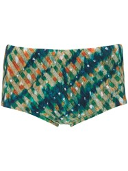 Lygia And Nanny Printed Parati Swimming Trunks Green