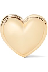 Alison Lou Heart 14 Karat Gold Earring One Size