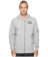 Rvca Reds Patch Grey Noise Men's Clothing Gray