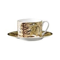 Roberto Cavalli Tiger Wings Teacup And Saucer
