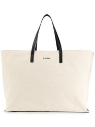 Jil Sander Large Tote Bag Brown