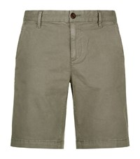 Paige Tailored Shorts Green