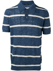 Roberto Collina Polo Top Blue
