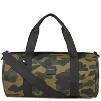 A Bathing Ape 1St Camo Cordura Sports Bag Green