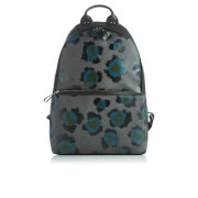 Kenzo Men's Leopard Print Backpack Black Green