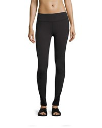 Beyond Yoga Down The Line Shirred Sides Performance Legging Jet