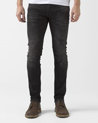 Wrangler Faded Black Slim Fit Bryson Jeans
