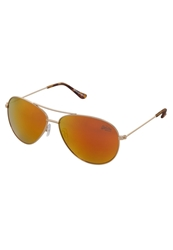 Superdry Navigator Sunglasses Goldfarben Flame Revo
