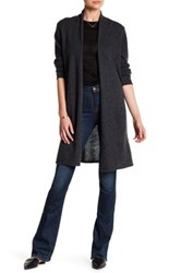 In Cashmere Long Cardigan Gray