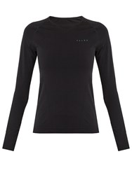 Falke Thermal Long Sleeved Performance T Shirt Black