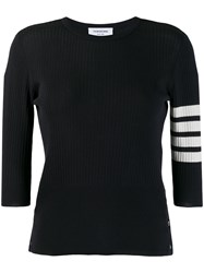 Thom Browne 4 Bar Mesh Stitch Tee 60