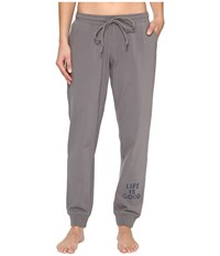 Life Is Good Beachy Jogger Slate Gray Women's Casual Pants